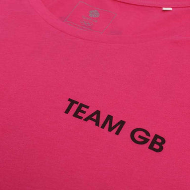 Team GB Izu T-Shirt Women's Raspberry | Team GB Official Store