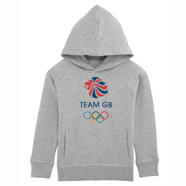 Team GB Olympic Logo Hoodie Kids-Team GB Shop