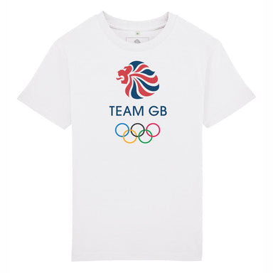 Team GB Olympic Colour Logo T-Shirt Kids-Team GB Shop