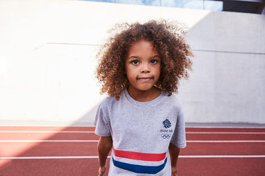 Team GB Striped Logo T-Shirt Kids | Team GB Official Store