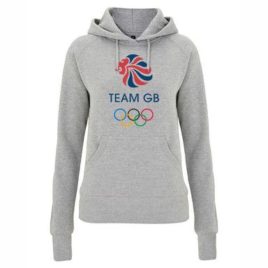 Team GB Olympic Logo Hoodie Women's-Team GB Shop
