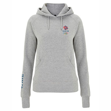 Team GB Olympic Small Logo Hoodie Women's-Team GB Shop