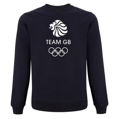 Team GB Olympic White Logo Sweatshirt Men's-Team GB Shop