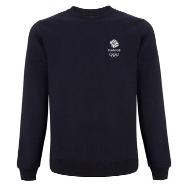 Team GB Olympic Small White Logo Sweatshirt Men's | Team GB Official Store
