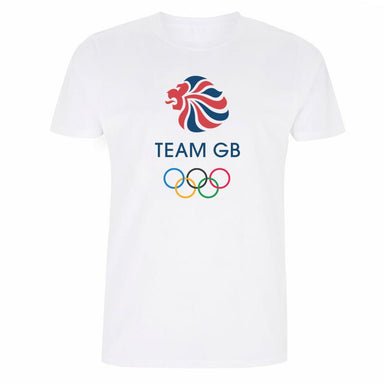 Team GB Olympic Colour Logo T-Shirt Men's-Team GB Shop