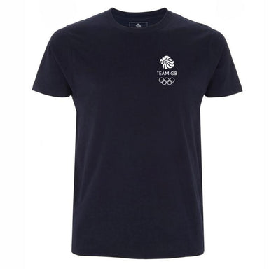 Team GB Olympic Small White Logo T-Shirt Men's-Team GB Shop