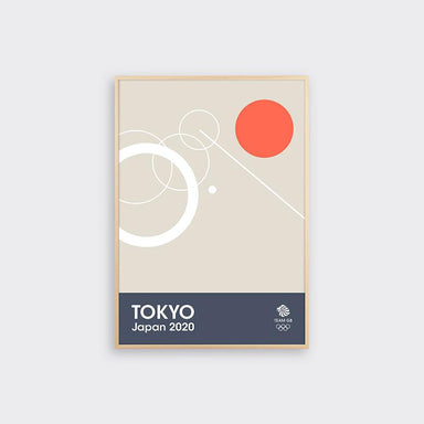 TEAM GB Tokyo Japan 2020 Print - Rowing | Team GB Official Store