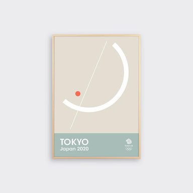 TEAM GB Tokyo Japan 2020 Print - Sailing | Team GB Official Store