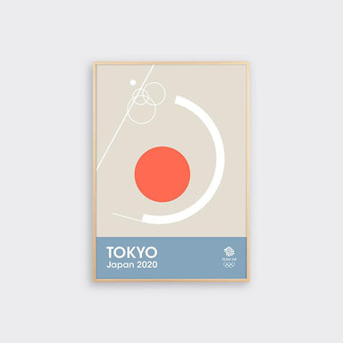 TEAM GB Tokyo Japan 2020 Print - Swimming | Team GB Official Store