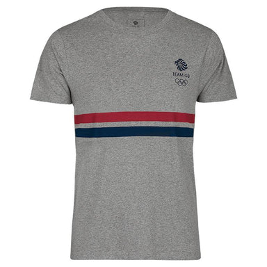 Team GB Striped Logo T-Shirt Men's | Team GB Official Store