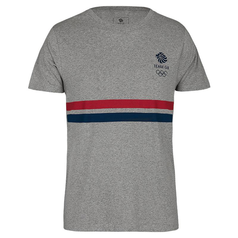Team GB Striped Logo T-Shirt Kids