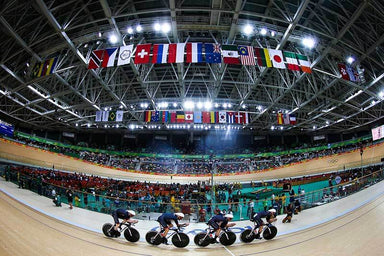 """Rio 2019 Olympic GB Mens Track Cycling"" Art Print 