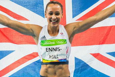 """Rio 2016 Dame Jessica Ennis-Hill"" Art Print 