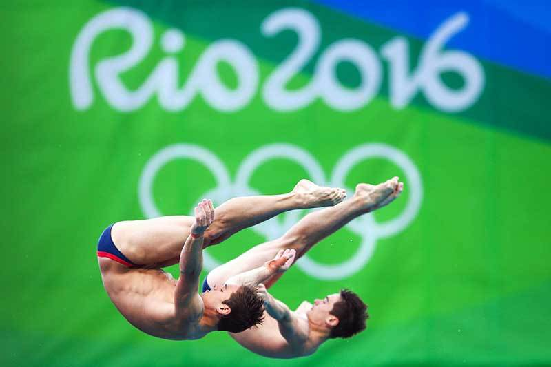 """Rio 2016 Men's Synchronised 10m Final"" Art Print"