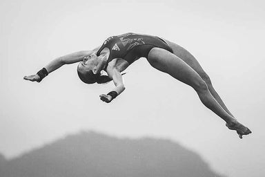 """Rio 2016 Diving"" Art Print 