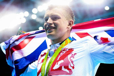 """Rio 2016 Adam Peaty Gold"" Art Print 