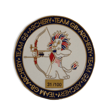 Team GB Tokyo 2020 Archery Limited Edition Coin | Team GB Official Store