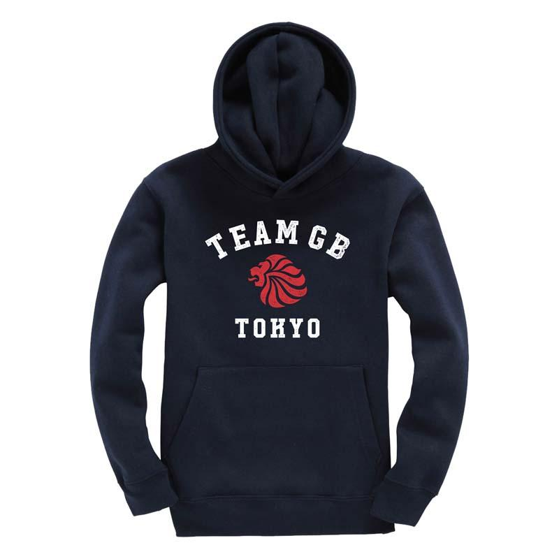 Team GB Yoyogi Hoodie Kid's-Team GB Shop