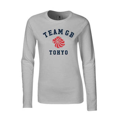 Team GB Yoyogi Long Sleeve T-Shirt Women's-Team GB Shop