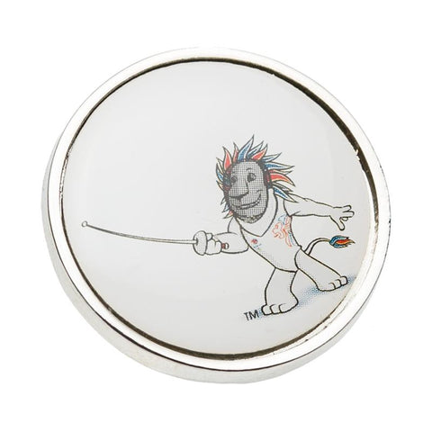 Team GB Pride Fencing Pin