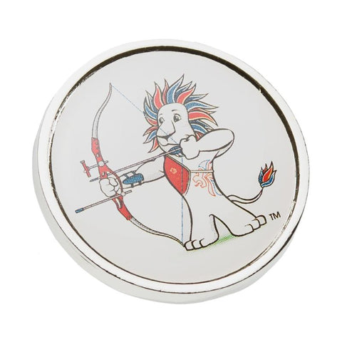 Team GB Pride Archery Pin