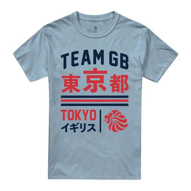 Team GB Ariake T-Shirt Men's Sky Blue | Team GB Official Store