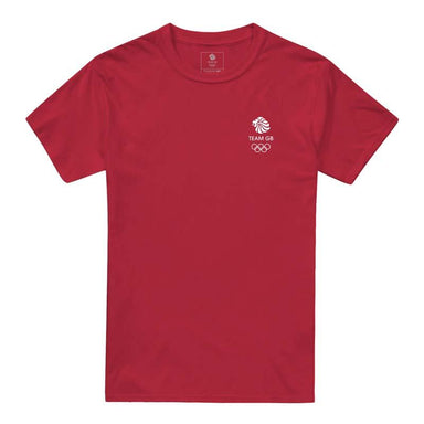 Team GB Olympic Small logo Performance Tech T-Shirt Men's-Team GB Shop