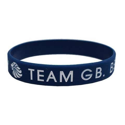 Team GB Wristband Blue