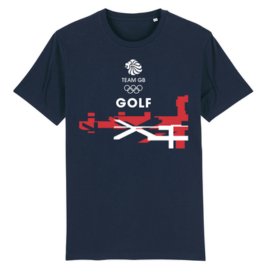Team GB Golf Flag T-Shirt | Team GB Official Store