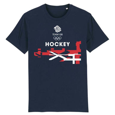 Team GB Hockey Flag T-Shirt | Team GB Official Store