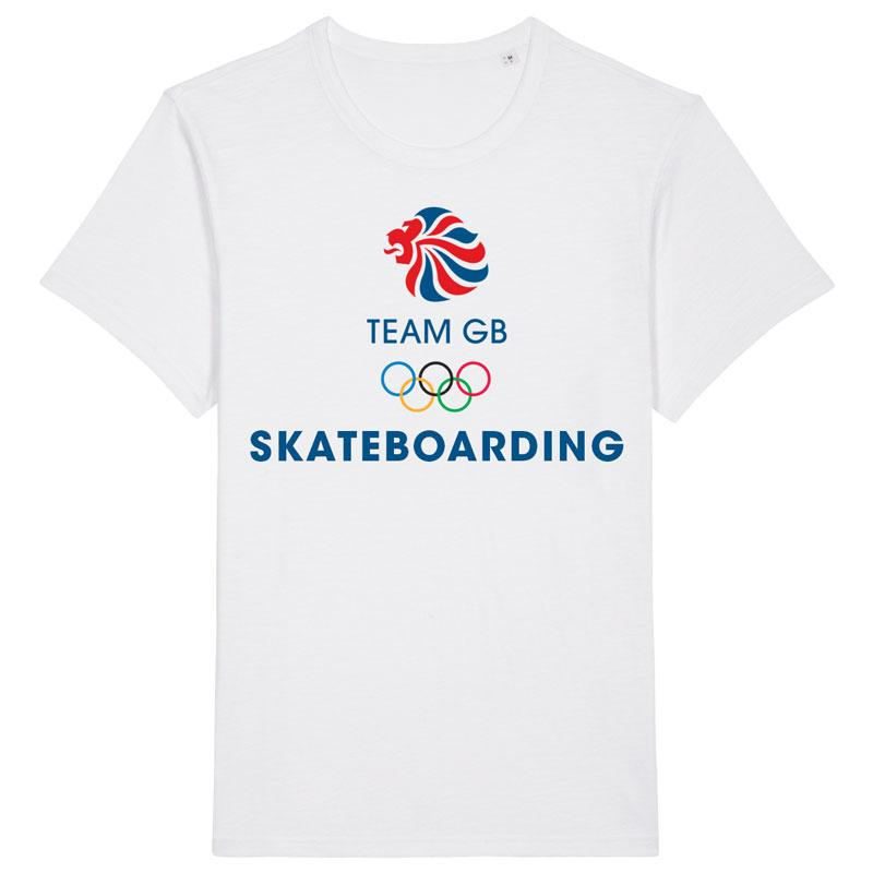 Team GB Skateboarding Classic T-Shirt | Team GB Official Store