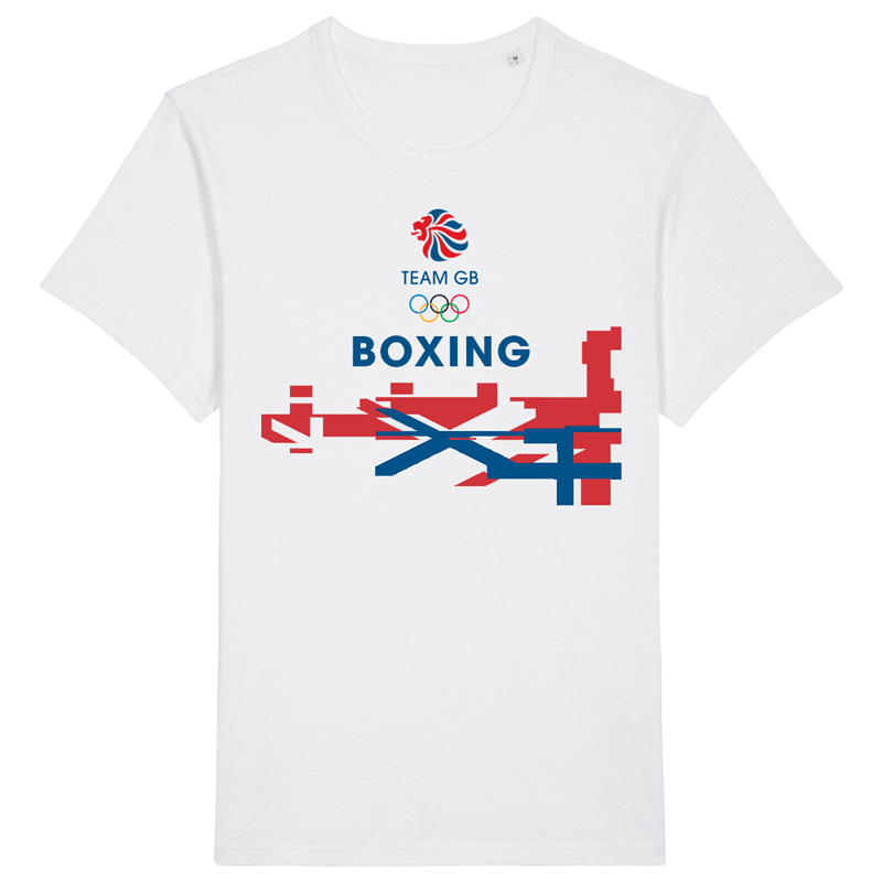 Team GB Boxing Flag T-Shirt | Team GB Official Store