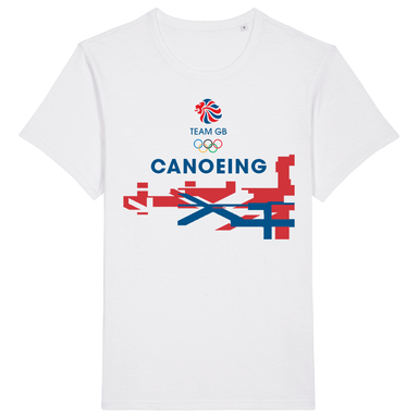 Team GB Canoeing Flag T-Shirt | Team GB Official Store