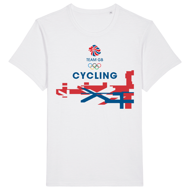 Team GB Cycling Flag T-Shirt | Team GB Official Store