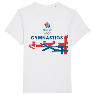 Team GB Gymnastics Flag T-Shirt | Team GB Official Store