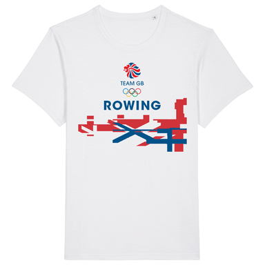 Team GB Rowing Flag T-Shirt | Team GB Official Store