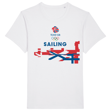 Team GB Sailing Flag T-Shirt | Team GB Official Store
