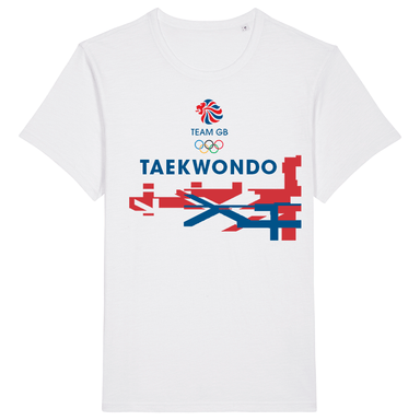Team GB Taekwondo Flag T-Shirt | Team GB Official Store