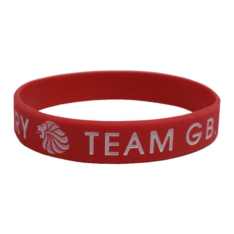 Team GB Wristband Red