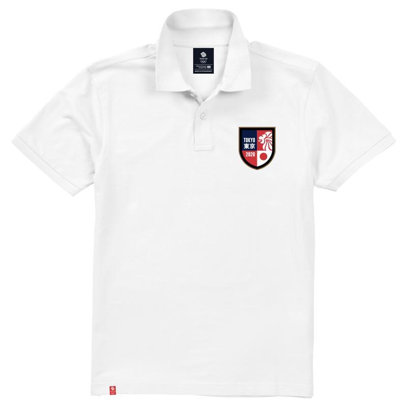Team GB Kashima Polo Shirt Men's-Team GB Shop