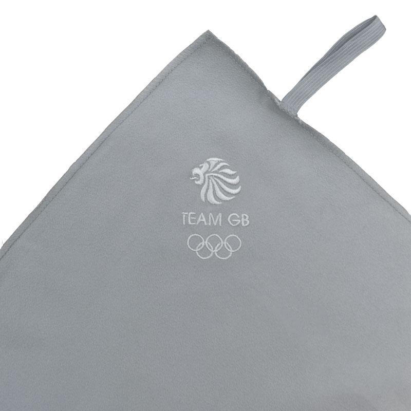 Team GB Microfibre Sports Towel - Grey | Team GB Official Store