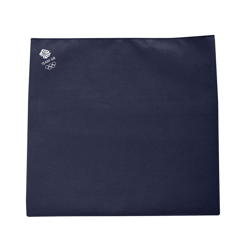 Team GB Microfibre Sports Towel - Blue