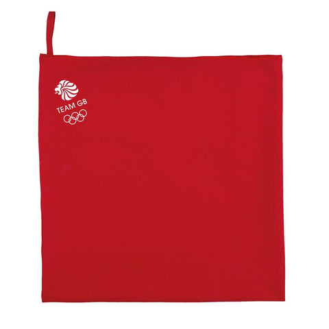 Team GB Microfibre Sports Towel - Red