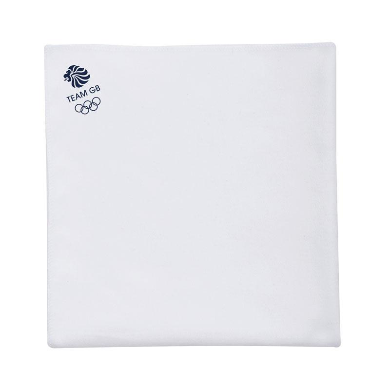 Team GB Microfibre Sports Towel - White | Team GB Official Store