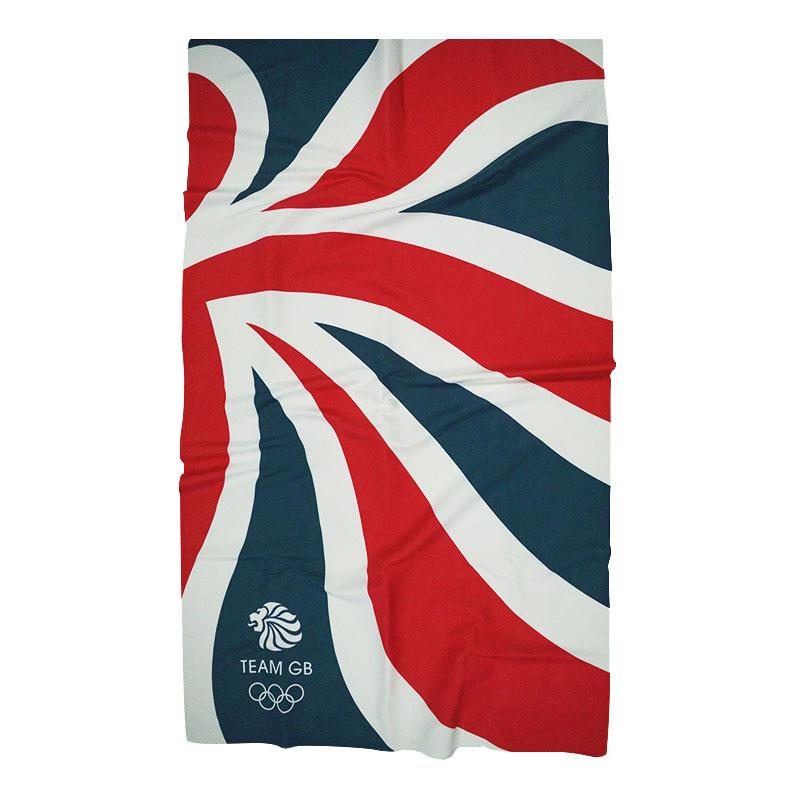 Team GB Large Microfibre Towel-Team GB Shop