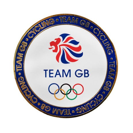 Team GB Limited Edition Tokyo Olympics Cycling Coin - Rear
