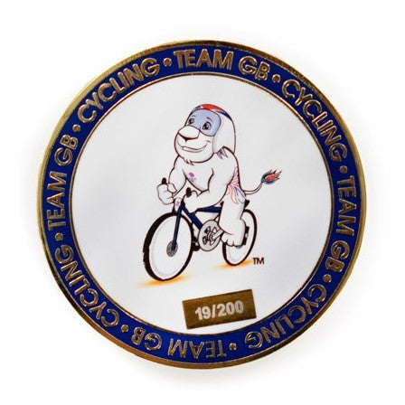 Team GB Limited Edition Tokyo Olympics Cycling Coin