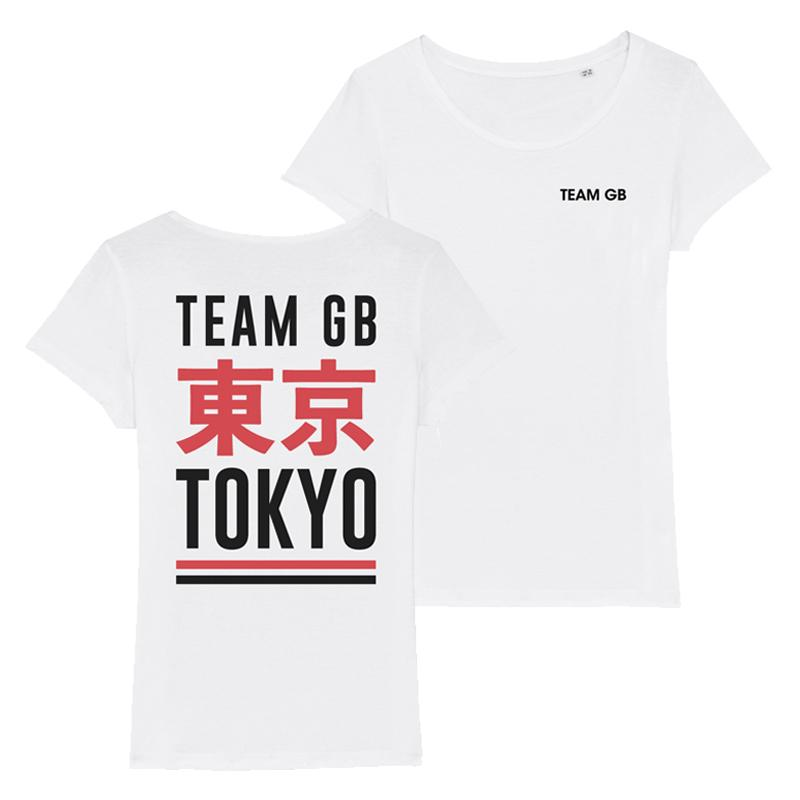 Team GB Izu T-Shirt Women's-Team GB Shop