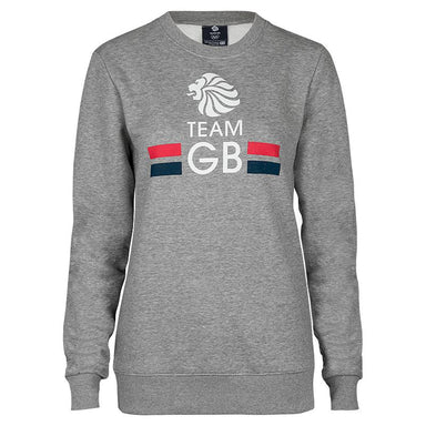 Team GB Logo Sweatshirt Women's-Team GB Shop