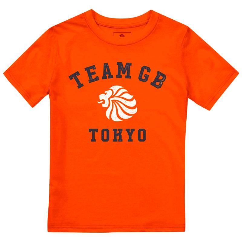 Team GB Yoyogi T-Shirt Kid's Orange | Team GB Official Store